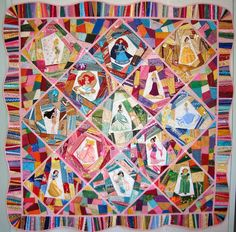 Love the border on this quilt seen on The Daily Blog at The Quilt Show