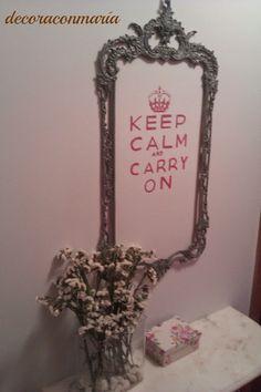 Decoraconmar a espejos marco espejo decoraci n estilo for Espejo marco gris