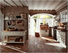 Browse the gallery of Ideas For Country Style Kitchen Cabinets Design 14614 in Kitchen section. Adorable Ideas For Country Style Kitchen Cabinets Design Country Kitchen Cabinets Pictures Ideas Tips From Hgtv HgtvTop Ideas For Country Style Kitchen Cab Baños Shabby Chic, Cocina Shabby Chic, Shabby Chic Kitchen, Kitchen Decor, Kitchen Ideas, Rustic Kitchen, French Kitchen, Open Kitchen, Kitchen Island