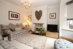 3 bedroom semi-detached house for sale in High Startforth, Barnard Castle, County Durham - Rightmove Photos Cottage Living Rooms, New Living Room, Home And Living, Cosy Living Room Decor, Country Living Rooms, Log Burner Living Room, Living Room Modern, Living Room Designs, Modern Wall