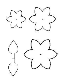 Раскраски Цветы шаблоны для вырезания цветок Flower Crafts, Diy Flowers, Diy And Crafts, Stencils, Kids Rugs, Bows, Templates, Paper, Card Boards