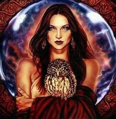 goddess Trivia is the Goddess of crossroads and magic. She was said to haunt crossroads and graveyards, and was the goddess of sorcery and witchcraft, she wandered about at night and was seen only by the barking of dogs who told of her approach. She was known as the Queen of Ghosts.