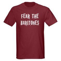 Fear The Baritones Dark T-Shirt