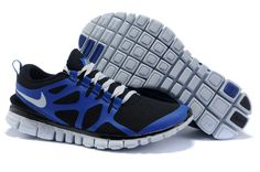 online retailer f7e2c 3dbc6 Nike Free 3.0 V3 Mens Black blue white Nike Free Run 2, Nike Free Shoes