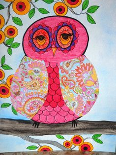 'Whooo's A Pretty Girl' by Open Heart Gallery