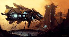 Take-off Picture  (2d, sci-fi, spaceship)