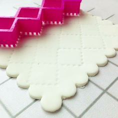 Pinch&Dash | fondant cutters - quilting tool