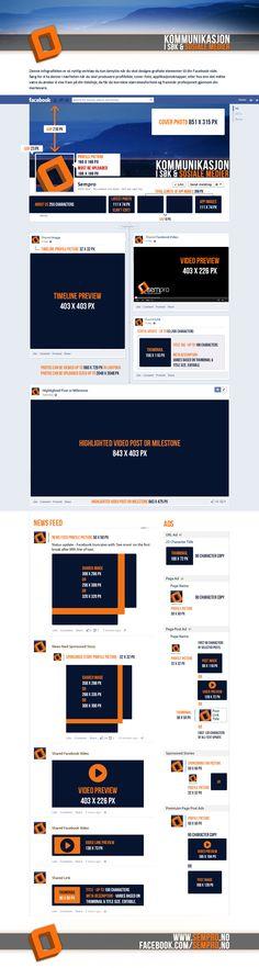 Facebook: Den Ultimate Bildeguiden 2! Nå som Infographic Den, Infographic, Social Media, Content, Facebook, Digital, Info Graphics, Social Networks, Infographics