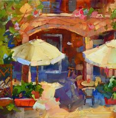 Summer Time...and the Livin' Is Easy, painting by artist Dreama Tolle Perry