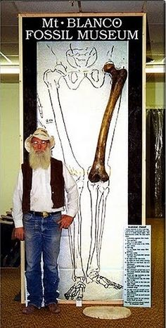 14 feet Tall Giant's Femur Bone Found in Turkey: Out-of-place Artifacts (OOPArt)
