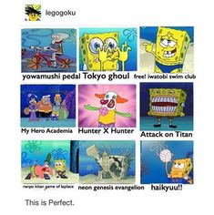 SpongeBob is the ultimate otaku 😂 Anime Love, All Anime, Manga Anime, Anime Stuff, Animes On, Card Captor, A Silent Voice, Anime Japan, Anime Crossover