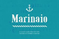 Marinaio Serif by Hederae Type Foundry on @creativemarket