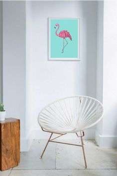 Excited to share the latest addition to my #etsy shop: Pink flamingo decor, pink flamingo art, Flamingo home decor, pink nursery wall art, flamingo decor, flamingo gifts, flamingo gifts for girls