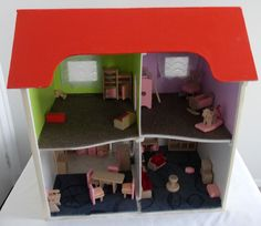 Check the website for info on manufacturers of hand made children play #furniture_table and #chairs, #dolls #Houses #little_garages