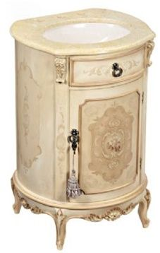 Gorgeous Hand Painted Powder Room Sinks