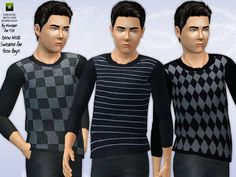 Crew Neck Sweater by Minicart - Sims 3 Downloads CC Caboodle