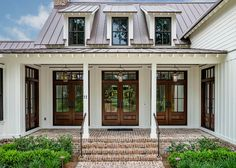 'Palmetto Bluff - South Carolina Low Country Home.' Markalunas Architecture Group, Greenville, SC. Lisa Carroll photo. Bevolo Gas and Electric Lights.