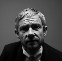 Martin Freeman in Chris Floyd's BAFTA studio.... just... hnnnngggggg