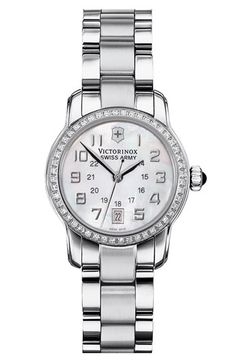 Victorinox Swiss Army® 'Vivante' Diamond Bracelet Watch available at #Nordstrom