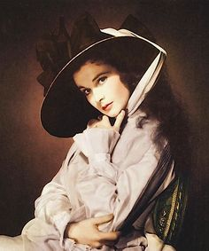 Vivien Leigh in a portrait as Lady Hamilton for That Hamilton Woman, 1941.