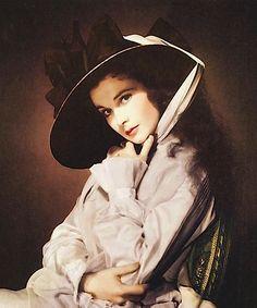 Vivien Leigh in a portrait as Lady Hamilton for That Hamilton Woman, 1941.