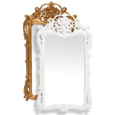 Barbara Cosgrove X-Mirror Floral @LaylaGrayce $543. 21w x 38h