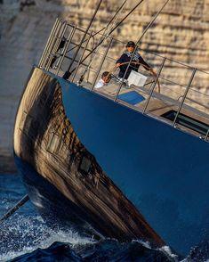 Kurt Arrigo photography — Taking control. Are you ? #lifeatsea #sail...