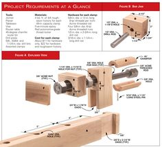 AW Extra - Wooden Bar Clamps - Woodworking Projects - American Woodworker