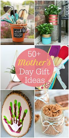 50+ Mother's Day Gift Ideas - so many great ideas for gifts to give on Mother's day!