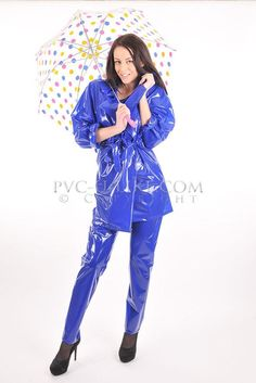 Shiny Pvc and Plastic