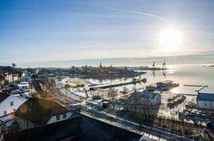 Grunnundersøkelser neste: Kartleggingen av bunnen i den kommende gjestehavna blir trolig ferdigstilt før sommerferien.