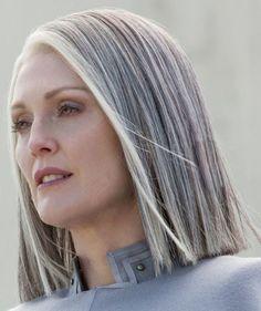 Salt and pepper gray hair. Granny hair don't… - Weißes Haar Grey Hair Wig, Long Gray Hair, Silver Grey Hair, Dark Hair, Hair Bangs, Lilac Hair, Emo Hair, Pastel Hair, Green Hair
