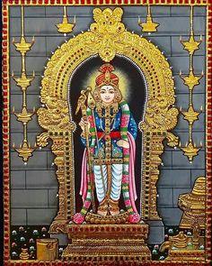 Kerala Mural Painting, Tanjore Painting, Viria, Lord Murugan Wallpapers, Durga Goddess, Hindu Art, Indian Gods, Traditional Paintings, Wallpaper Free Download