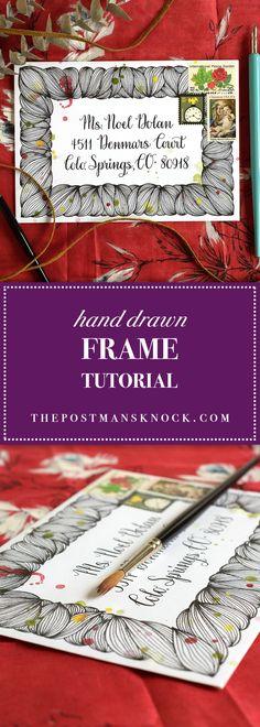 Hand Drawn Frame Tutorial