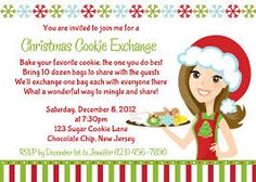 99 Best Parties Cookie Exchange Images On Pinterest Holiday
