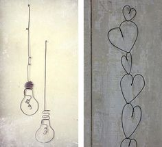 How For Making Candles In Your House - Solitary Interest Or Relatives Affair Ijzerdraad Decoratie Wire Crafts, Craft Stick Crafts, Diy And Crafts, Diy Wall Art, Home Wall Art, Craft Presents, Nail Polish Crafts, Foam Letters, Iron Wire