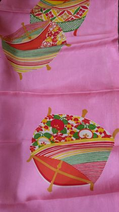 b17904a5a5 Vintage 1940 s Japanese silk kimono fabric 75 cm x 36 cm Kimono Fabric