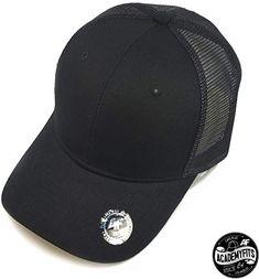 eb899f09 AcademyFits Quality 6 Panel Cotton Nylon Trucker Mesh Snapback Hat  Adjustable Fits Men Women Unisex Baseball