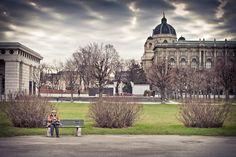 012 / 365 - Granny sitting at Heldenplatz Vienna, Louvre, Building, Pictures, Travel, Photos, Viajes, Buildings, Destinations