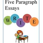 These materials are an easy way to help students organize their ideas before writing an expository or persuasive essay. Students fill out the graphic organizer while they research and use the information to guide them through the writing process.