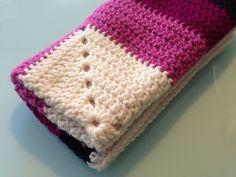 Manta para bebe Realizada en crochet