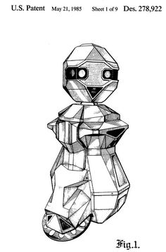 One of the coolest looking 80's personal robot designs: Androbot Topo