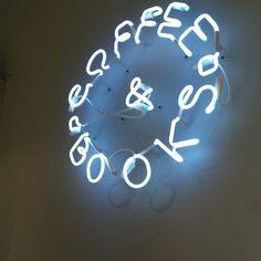 Blue Neon Coffee&books