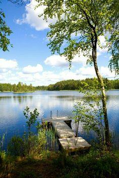 Ihana järvenranta kuva! 😃 - #Ihana #järvenranta #kuva #schweden
