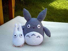 choose happiness: Making Totoro(s)