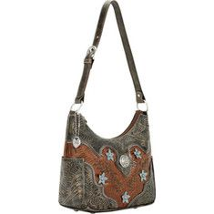 Women's+American+West+Desert+Wildflower+Zip-Top+Everyday+Hobo+with+FREE+Shipping+&+Exchanges.+Extensive+handcrafted+details+create+a+sophisticated+and+modern+style+in+