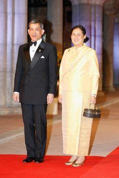 Crown Prince Maha Vajiralongkorn and his sister Maha Chakri Sirindhorn of Thailand