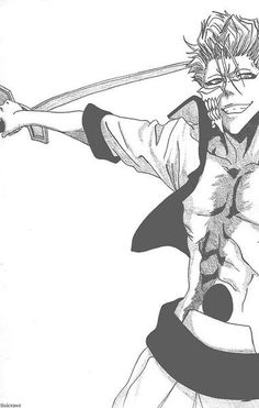 Grimmjow - you look at him and you think with that big smile of his, he's such a fun guy but then you realize that he's just a happy sociopath.....