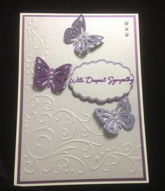 Darice embossing folder Martha Stewart punch butterflies.