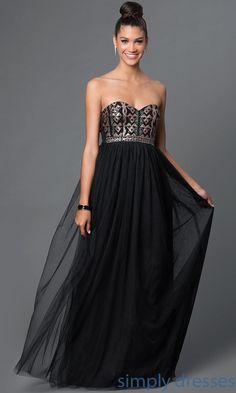 879dd2f1db9 Long Sequin-Embellished Sweetheart Gown. Short Cocktail DressCocktail  DressesFormal ...